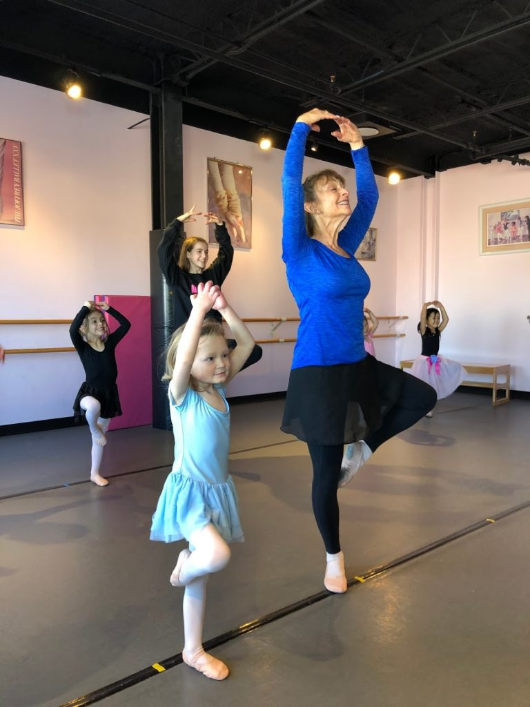 Register Dance Class Newton