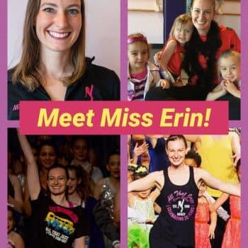 Miss Erin, dance teacher at All That Jazz in Newton