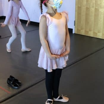 ballet class at All That Jazz