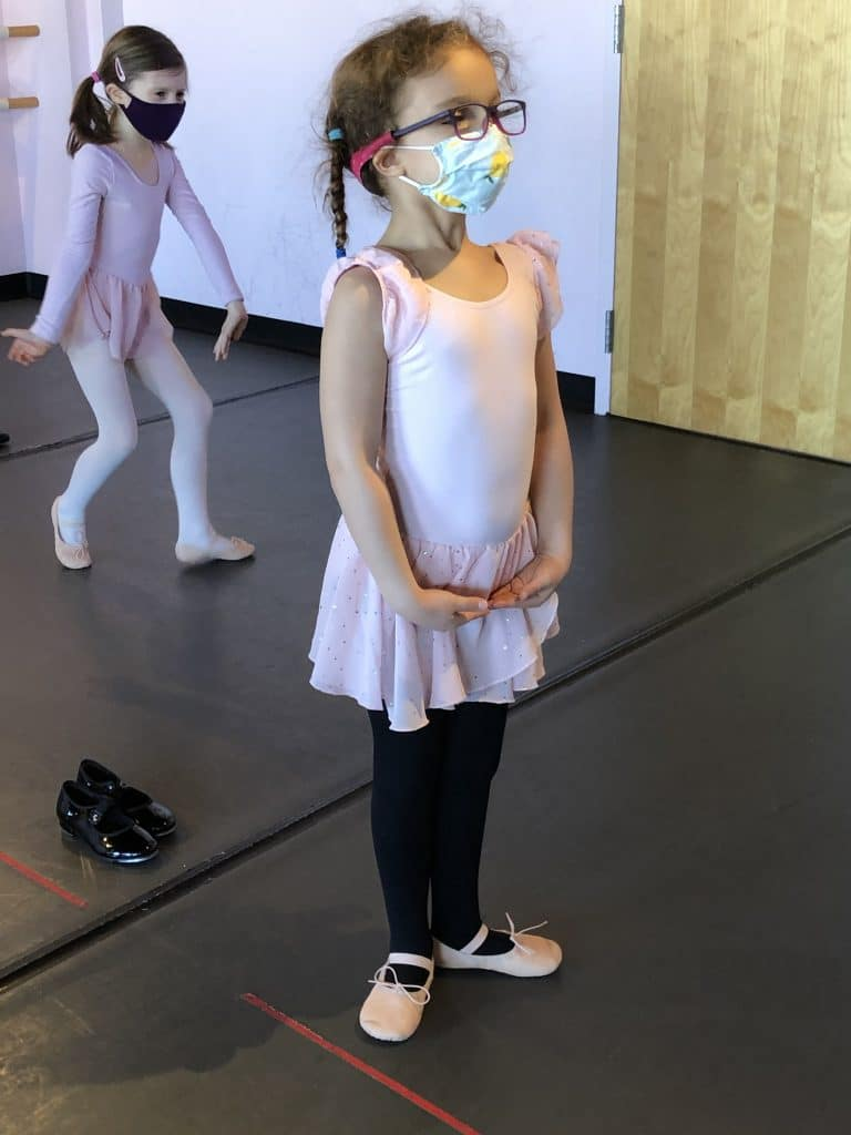 ballet class at All That Jazz