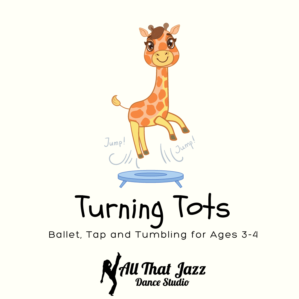 turning tots pre-ballet/tap and tumbling class