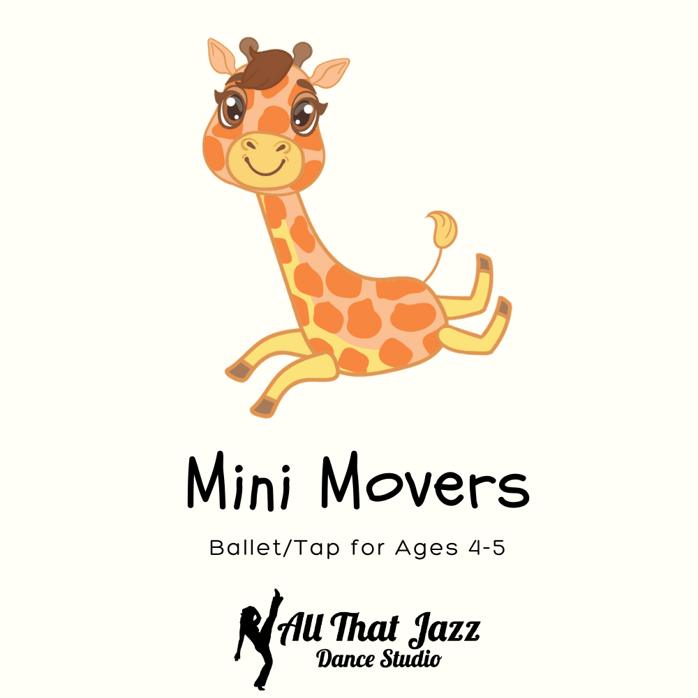 mini movers dance class at all that jazz