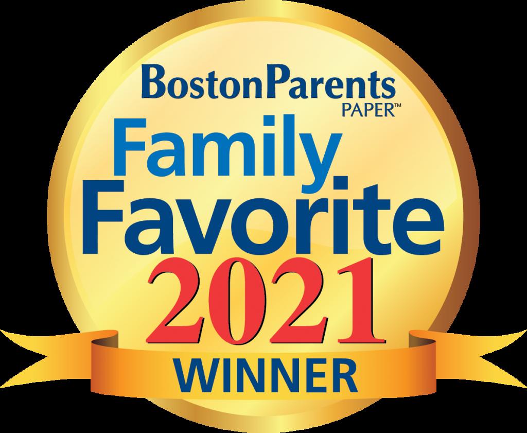 winner of 2021 Boston Parents Paper Favorites
